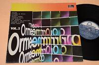 LE ORME LP VOL 2 1°ST ORIG ITALY PROG 1977 NM !! FONTANA SPECIAL AUDIOFILI NM !!
