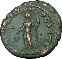 ELAGABALUS Nicopolis 218AD Ancient Roman Coin NUDE DIONYSOS Wine God  i19874