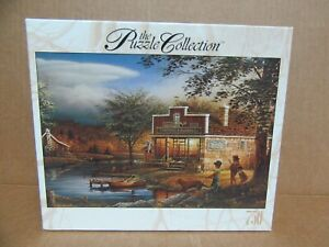 """NEW Terry Redlin RoseArt 750 Piece Jigsaw Puzzle """"Summertime""""    Sealed Box"""