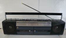 Seltene Vintage Sony CFS-W301L Boombox 4-Band Stereo Radio Cassette Recorder