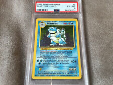 1999 Pokemon Game #2 Blastoise Holo PSA 6
