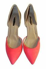 Dorothy Perkins Women's Synthetic Leather Court Shoes Slim Heels