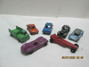 Lot Tootsie Toy Cars Vehicles  Shuttle Truck Dragster Diecast Vintage (7-9-20)