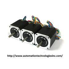 3 pcs NEMA17 Stepper Motor (KL17H248-15-4A) for 3D Printer, 76 oz-in
