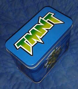 2010 *** STORAGE SWEET TIN 13x8x10 cm *** XMAS TEENAGE MUTANT NINJA TURTLES TMNT