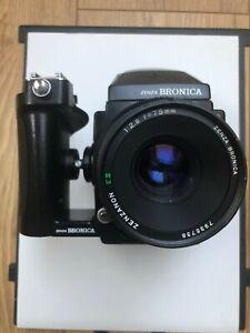 Zenza Bronica ETRS w/ 75mm Lens + Grip