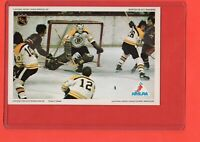 1971-72  Ed Johnston/Cashman/Awrey  Pro Star NHLPA Postcard nrmnt-mint