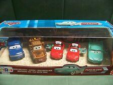 Disney Pixar Cars Diecast Flo's V8 Cafe 5 Car Gift Pack New In Box