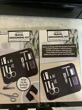 Mens Grooming Kit Travel Gift Nail Clipper Manicure Pedicure Set Brand New