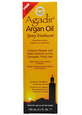 AGADIR Argan Oil Spray Treatment Repairs and Adds Elasticity to Dry Hair 5.1 oz