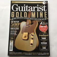 Guitarist magazine #428 January 2018 Malcolm Young, Joe Satriani and Jimmy Page