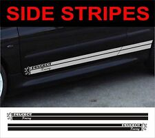 side stripes fits peugeot 106 206 207 305 306 307