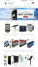 Amazon Affiliate Store - Solar Power Website