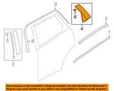 MAZDA OEM 16-18 CX-9 Exterior-Rear-Applique Window Trim Left TK4950M60C
