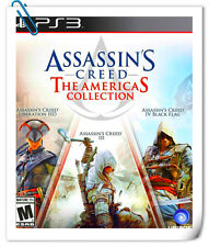 3 IN 1 PS3 ASSASSIN'S CREED THE AMERICAS COLLECTION Sony Action Games Ubisoft