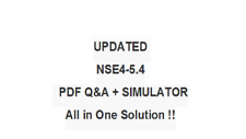 FORTINET NETWORK SECURITY EXPERT 4 FORTI 0S 5.4 NSE4 -5.4 Exam QA PDF&SIM