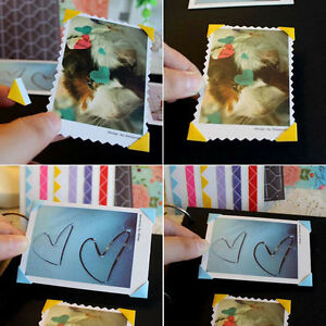Photo Album Self-Adhesive Corner Stickers Picture Frame Scrapbook Handcraft DIY