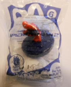 McDonald's Amazing Spider-Man 2 Spidey Spinning Top #6 Unopened