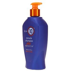It's a 10 Miracle plus Keratin Shampoo 10 Fl Oz, No Added Sulfates