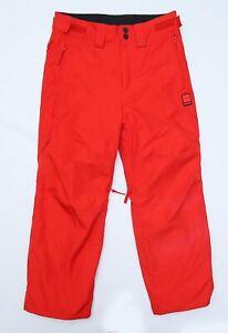 RipCurl Rip Curl Men's Red Snow Snowboarding Ski Pants Size Small