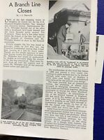 m9-2 ephemera 1955 article bradford keighley halifax line closes