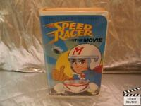 Speed Racer: The Movie (VHS, 1994) Animated Large Case