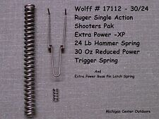 Wolff EXTRA POWER SPRING KIT for Ruger Blackhawk, Super, Bisley, Vaquero W17112