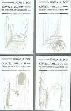 Contes, 4 vols. Edgar Allan Poe