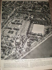 Photo article aerial view of the Chelsea Flower Show london 1955 ref Z