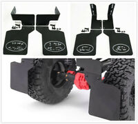 Rear Mud Flaps Rubber Fender For 1/10 RC Axial SCX10 SCX10 II 90046 90047 90022