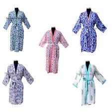 Women Fashion Sleepwear 100% Cotton Kimono Robe Cotton Night Dress Lot 5 Pcs