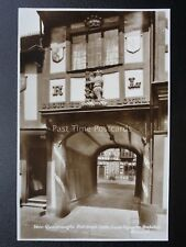 Warwick LORD LEYCESTER HOSITAL Quadrangle Entrance Gate Old RP PC by EA Sweetman