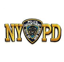 1 Écusson Brodé Thermocollant NEUF ( Patch Embroidered ) - NYPD Police New York