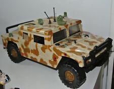 Corps Action Force figures gi Joe style humvee vehicle
