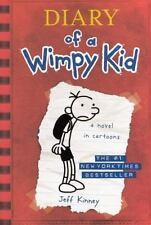 Diary of a Wimpy Kid (A Novel In Cartoons) by Jeff Kinney (2007, Hardcover)