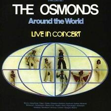 The Osmonds - Around The World - Live In (NEW CD)