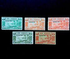 New hebrides 1938 Postage due set SG D6/10 Mounted Mint