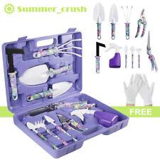 More details for 10pcs gardening tools set gift garden hand tool kit diy non slip ergonomic uk