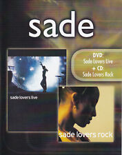 SADE - Lovers Live DVD + CD Lovers Rock - SMV 2002