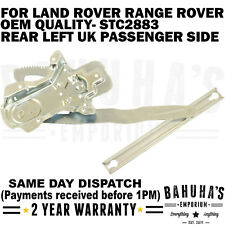 WINDOW REGULATOR- FOR LAND ROVER RANGE ROVER DISCOVERY/ CLASSIC REAR LEFT SIDE