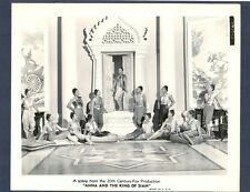 LOVELY SIAMESE COURTESANS - NEAR MINT 1946 PHOTO - ANNA AND THE KING OF SIAM