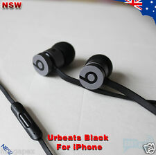 Beats By Dr. Dre urbeats Earphone MIC All Black  for Apple iPhone