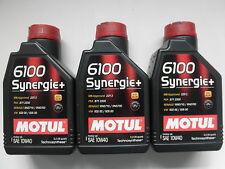 MOTUL 6100 SYNERGIE+ 10W-40 ACEA A3 / B4 TECHNOSYNTHESE per MERCEDES - BENZ 3 LT