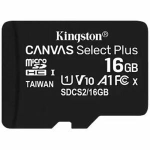 Kingston Micro SD Card 16GB TF/ Memory Card Class 10 for Smartphones & Tablets