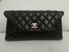 CHANEL POCHETTE BAG - BLACK - Trapuntato NEW NUOVA AUTENTICA