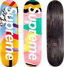 Supreme Mendini Skateboard Deck Set Alessandro Mendini Pink Blue LIMITED SS16
