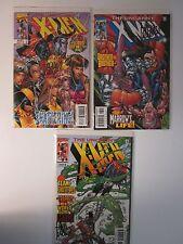 THE UNCANNY X-MEN #372-374 LOT (Sep 1999, Marvel Comics) SIGNED BY ADAM KUBERT