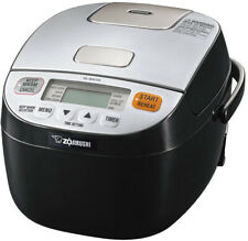 Zojirushi Micom Rice Cooker and Warmer (3-Cup/ Silver Black)