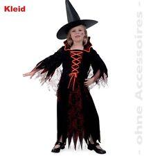 Fasching Halloween Grusella Hexe Kleid Kostüm Gr.116 NEU