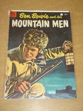 FOUR COLOR #599 VG+ (4.5) DELL COMICS BEN BOWIE MOUNTAIN MEN NOVEMBER 1954